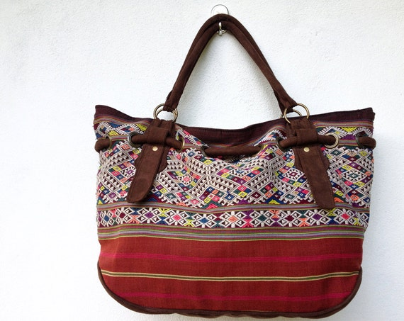 Unique Purse, Handmade Woven, Ethnic, Oriental, Antique, Native Lanna Style