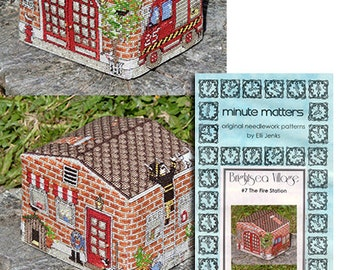 3D BrightSea Village 7 The Fire Station