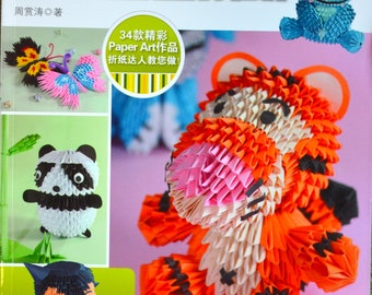 Making Creative Origami Sculptures Origami Craft Book (In Chinese)