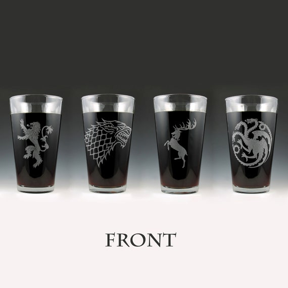 Items Similar To Game Of Thrones Dual Sided House Pint
