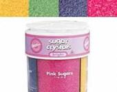 Wilton Bright Sanding Sugar 4 Mix Sprinkles Assortment- Primary Sugars