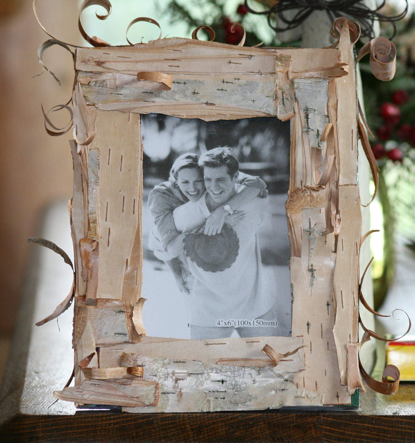 Birch bark covered picture frames willow creek artworks