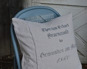 German Grain Sack Pillow Covers