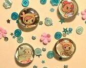 Tokidoki Sweet Friends Magnet Set
