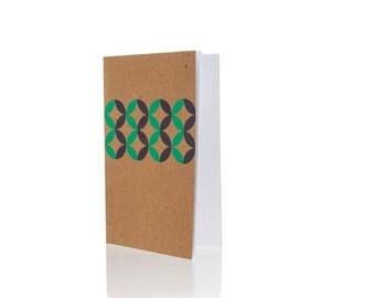 "Notebook - Geometer  5"" x 8"" on Blank Paper"