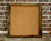 Upcycled Barn wood Cork board
