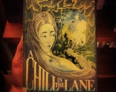 A Chill in the Lane by Mabel Esther Allan, Copyright 1974, First Edition Vintage Book