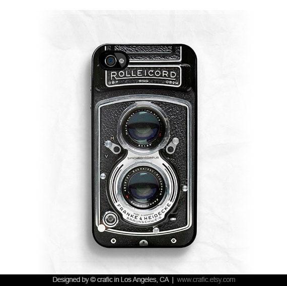 Vintage Camera IPHONE 5s CASE iPhone 6S case Film iPhone 6S Plus case rolleicord iPhone 5C case iPhone 4 case Film