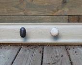 24 inch Taupe Door Knob Coat Rack