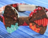 Fire Hydrant Multi-Colored Dog Bowtie or Bow