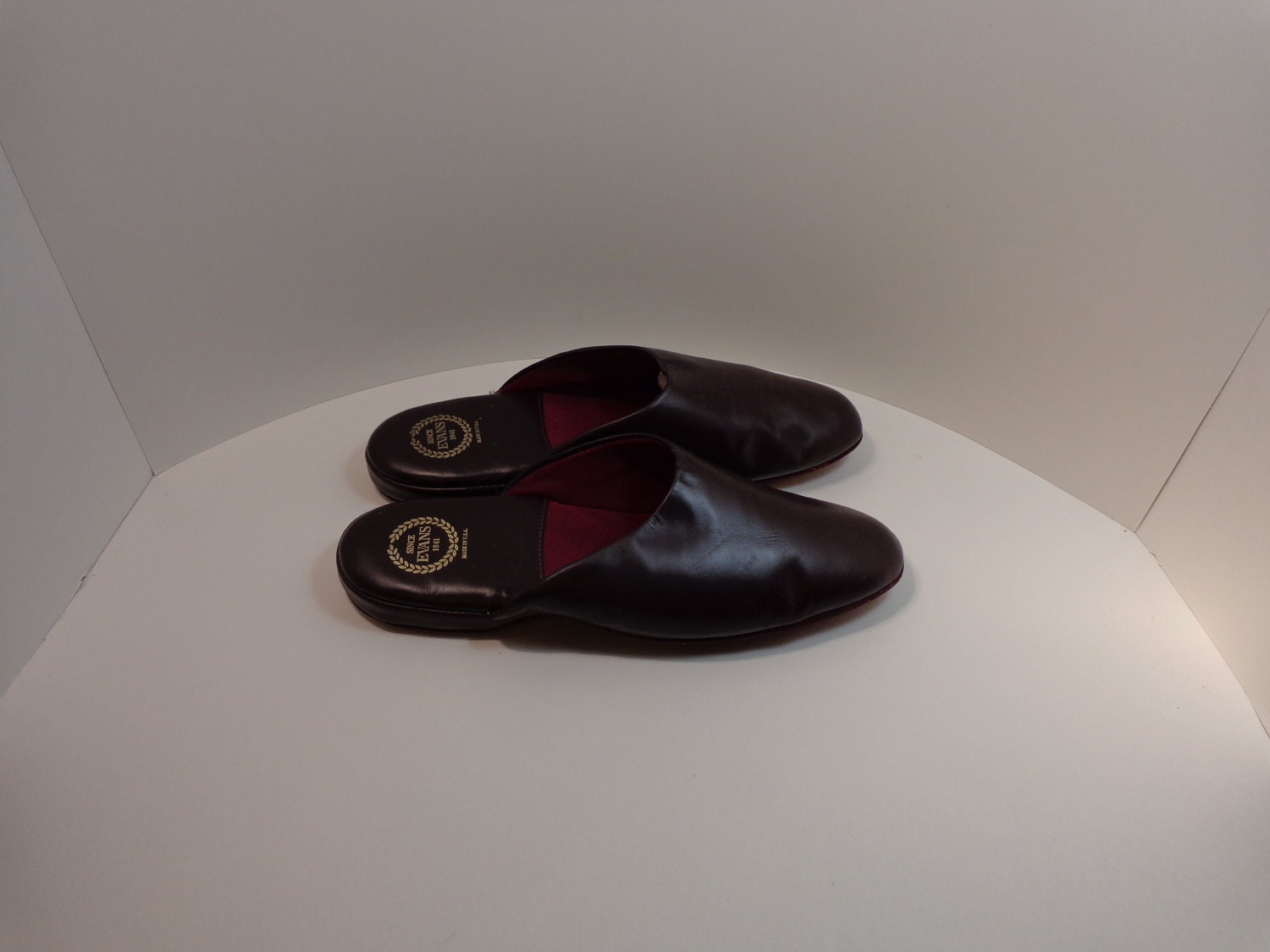 Vintage Size 14 Wide Men 39 S Leather Slippers