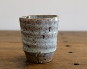 Coffee Cup. Stoneware with nuka glaze.