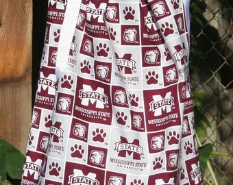 Featuring Mississippi State Bulldogs Pillowcase dress: TD047