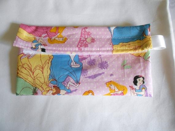 Disney Princess Pink Reusable Snack bag