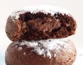 Cookie BOMBS, choc hazel cookie surprises