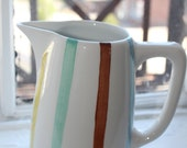 Vintage Stripe pitcher by Sphinx Parafeu from Holland