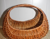 Vintage beautiful Willow Basket, also known as French Basket