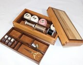 Made To Order Medium Sewing & Notions or Jewelry Box