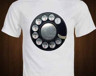 Rotary Dial Telephone T-Shirt
