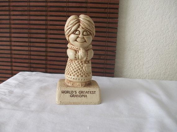 Worlds Greatest Grandma Trophy 1972