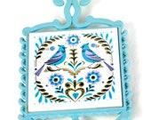 Lovebird Trivet