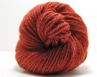 Qina Yarn in Burnt Orange by Mirasol