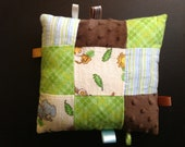 Baby Taggie Pillow - Patchwork Jungle