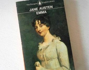 Vintage Penguin book Emma by Jane Austen