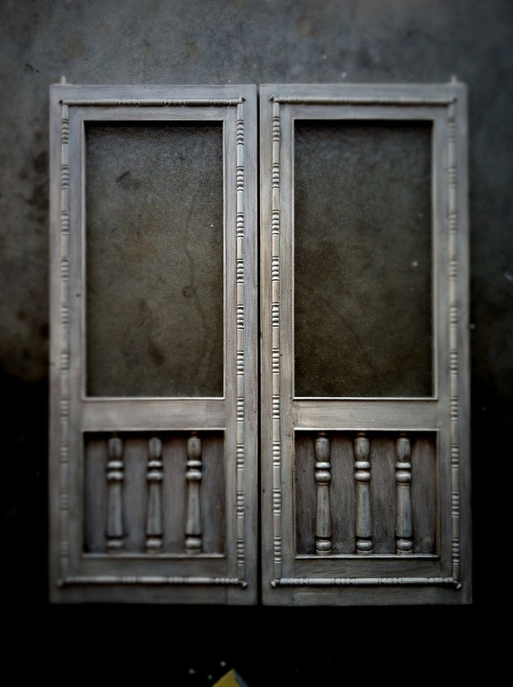 swinging cafe doors handcrafted aged wood saloon pub
