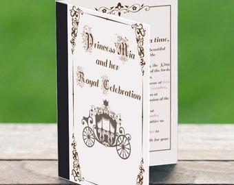 Royal Fairytale Princess Storybook Style Invitation- Design Fee-