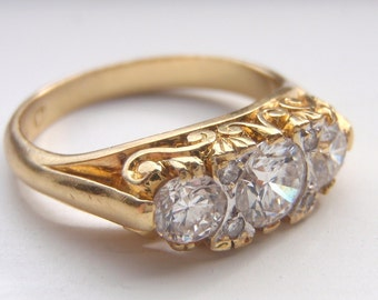 Reserved for Sheree. An Abundance of Beautiful Quality Diamonds and Lots of Solid 18K Gold.