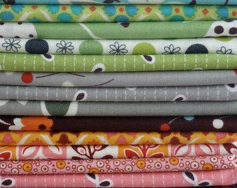 Denyse Schmidt Flea Market Fancy Legacy Entire Collection 21 Piece Fat Quarter Yard Bundle