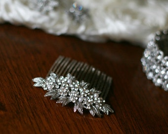 Wedding hair comb, bridal hair accessories, Crystal comb, Vintage Style Comb, headpiece, tiara