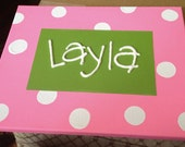 Personalized Baby Name Painting