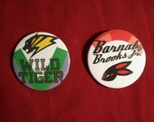 """Tiger&Bunny 2 1/4"""" pinback button set of two"""