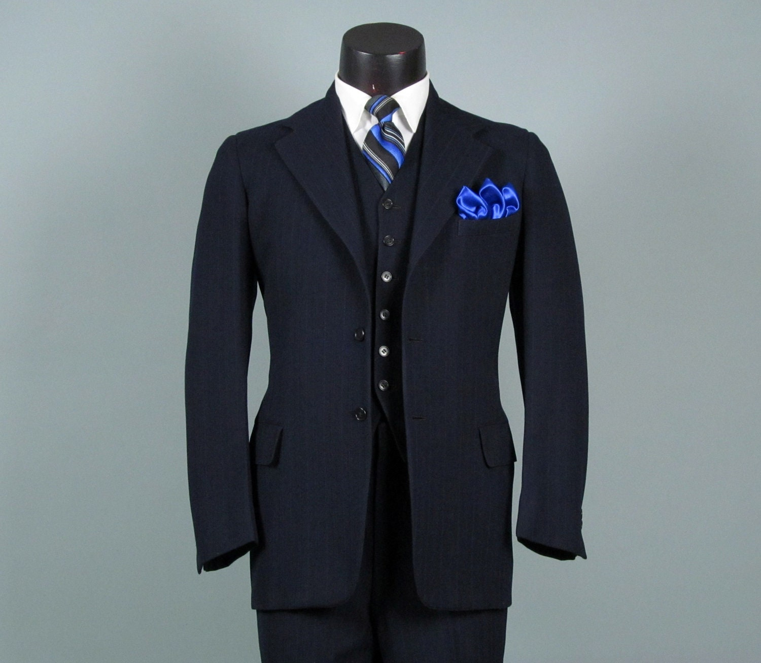 Vintage Three Piece Suit