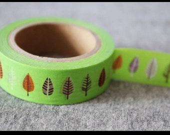Washi Tape - Japanese Washi Tape - Masking Tape - Deco Tape - WT1090