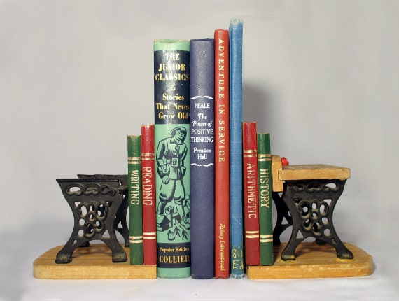 Bookends / Collectibles / School desk / Birthday gift / Book ends