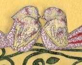 """Ketubah """"Lovebirds on a Vine"""""""