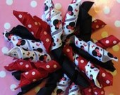 Minnie Mouse Inspired Korker Bow