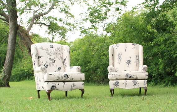 RESERVED for Griciai - SALE 25% off - Charlotte Chairs, Set of 2