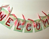 Welcome banner teacher back to school classroom decor gift