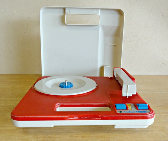 Vintage Fisher Price Record Player Phonograph 3814