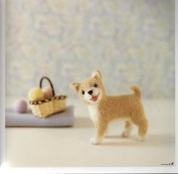 eBook Wool Needle Felt Small Dogs - NF02