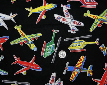 Junior Pilots - Fabric By The Yard - H