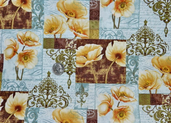 Wildflower- Fabric By The Yard