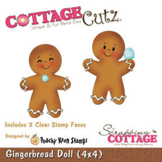 "Cottage Cutz ""Gingerbread Doll (4x4)"""