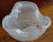 1960s Art Glass Ashtray/Dish // 60s Murano Ashtray/Dish