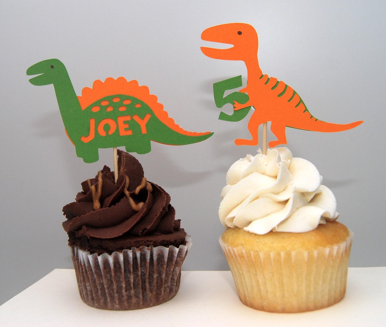 Dinosaur Cupcake Toppers 12