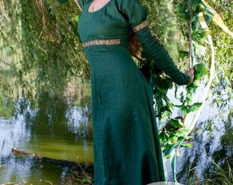 "20% DISCOUNT! Medieval Dress Tunic ""Forest Princess"""